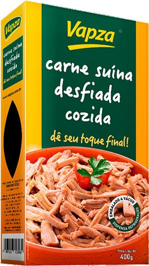Carne Suína Cozida no Vapor Vapza