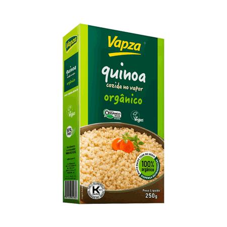 Quinoa Branca Orgânica 250G Vapza - Peso líquido 250g