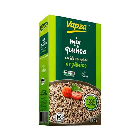 Mix de Quinoa Orgânica 250G Vapza - Peso líquido 250g
