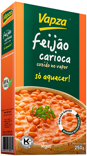 Feijão carioca Vapza Detalhe