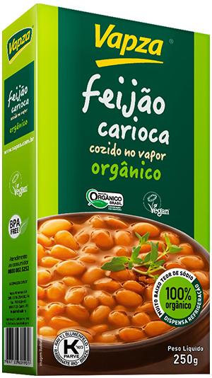Feijão Carioca Orgânico Detalhe Vapza