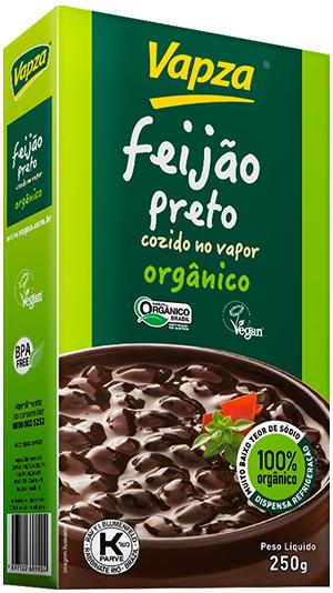 Feijão Preto Orgânico Detalhe Vapza