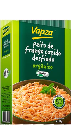 Peito de Frango Orgânico Detalhe Vapza