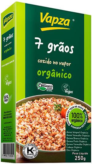Mix 7 Grãos Orgânico Detalhe Vapza