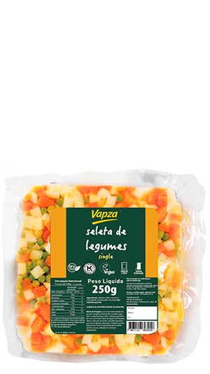 Seleta de Legumes Single Detalhe Vapza